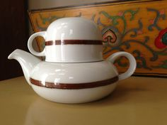 Bing & Grondahl Tea for One by Martin Hunt by VintageDishCupboard, $50.00