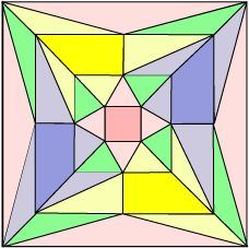 Snub Cube Schlegel