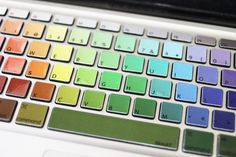 The Dainty Squid: keyboard decals