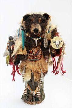 Black Bear Medicine Doll Black Bear Animal Spirit Doll Bear #NEEDLEFELTING #SPIRITANIMAL #TOTEM Bear Spirit Animal, Bear Animal, Bear Totem, Spirit Doll, Power Of Meditation, Power Animal, Textiles, Animal Totems, Sheep Wool