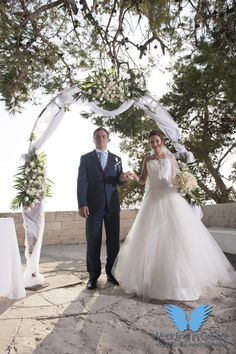 Chania in Crete, is one of the most beautiful places to have your wedding in Greece. Wedding ceremony was held at a beautiful place with a stunning view. Crete Island, Greece Islands, Stunning View, Most Beautiful, Beautiful Places, Wedding Ceremony, Reception, Heraklion, Greece Wedding