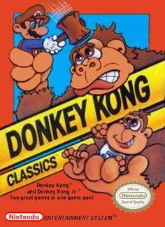 NES Games - Donkey Kong Classics
