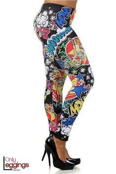 Only Leggings - Bubblelicious Leggings - Plus Size, $34.00 (http://www.onlyleggings.com/bubblelicious-leggings-plus-size/)