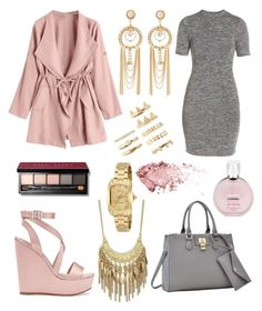 """""""Untitled #123"""" by fashionstyleideas4now on Polyvore featuring French Connection, Miss Selfridge, Dasein, Charlotte Russe, Invicta, Forever 21, Saks Fifth Avenue, Chanel and Bobbi Brown Cosmetics"""