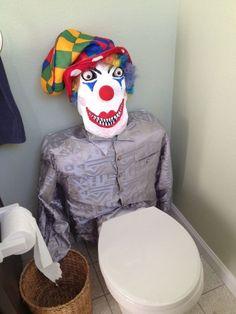 "This fun-loving clown: | 22 Toilets That Will Make You Say, ""Nah. I'm Good."""
