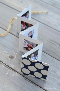 DIY Brag Book - could use it as a reminder of fun Girl Scout adventures throughout the year, memories of camp or cookie portfolio!