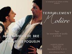 Mademoiselle de Brie et Jean-Baptiste Poquelin dit Molière