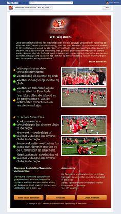 Twentsche Voetbalschool.  Wat Wij Doen Tab