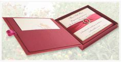boxed wedding invitations - Google Search