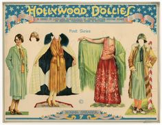 75.2383: Hollywood Dollies: Norma Shearer | paper doll | Paper Dolls | Dolls | National Museum of Play Online Collections | The Strong