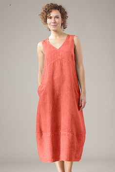 blue v neck pockets summer casual dress Women's Fashion Dresses, Boho Fashion, Dress Outfits, Casual Dresses, Summer Dresses, Linen Dresses, Cotton Dresses, Mode Cool, Cotton Long Dress