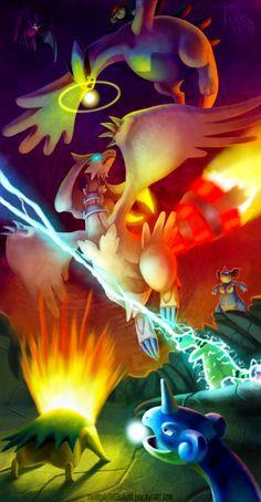 Pokemon vs. Reshiram... RESHIRAM WINS!!!,HE IS BEST DRAGON LEGENDARY
