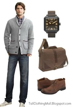 Big and tall look for Fall.