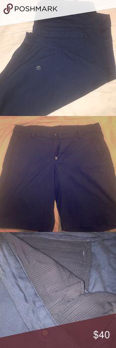 Lululemon the Works short 36 Navy Blue Lululemon the Works short 36 Navy Blue. Only worn twice. Brand new quality. lululemon athletica Shorts Flat Front