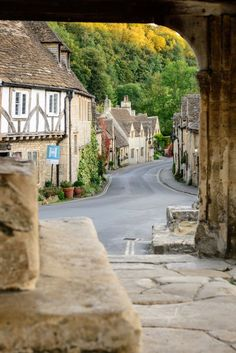 The village of Castle Combe in Wiltshire, England - Come check out our luxury phone cases. Different styles for every type of personality!