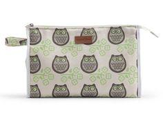Apple & Bee, Owl Baby Cosmetic Bag