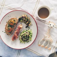Today's #BreakfastWithSophie is a delicious brunch made with love by @wolfaz! // @BreakfastWithSophie by @allafiorentina