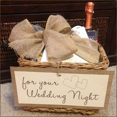 Gift For Bride Night Before Wedding : Bride-to-be gift (for the night before the wedding). Wedding Time ...
