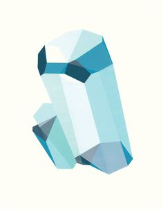 Colorful Birthstone Prints by Elisa Werbler - Design Milk
