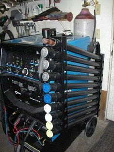 Welding rod organization