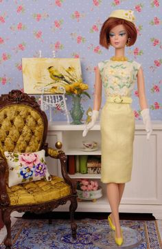 Daisy Love for Barbie & Victoire Roux by HankieChic on Etsy