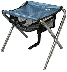 Trekology Portable Folding Stool, Ultralight Compact Footrest Stool, Mesh bag for Storage, Support 250lb Sitting Weight, Great for a Quick Rest Outdoors and for Chores Close to the Ground (Blue) >>> Want to know more, click on the image.