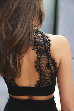 Chic My Interest Black Lace Two-Piece Dress