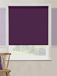 Cordoba Purple Blackout Roller Blind from Blinds 2go