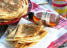 Pancake Healthy - Welcome Pikide Crepes, Dessert Ig Bas, Healthy Breakfast Recipes, Healthy Recipes, Healthy Meals, No Cook Desserts, Coco, Food And Drink, Cooking Recipes