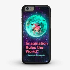 CRAFIC IMAGINATION RULES THE WORLD iPhone 6 Case