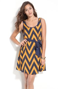 Zigzag Tank Dress