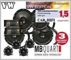 VW New Beetle Lautsprecher Testsieger Einbauort vorne hinten PS165 ...