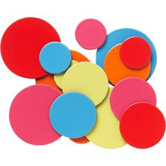 color dot magnets from paper source $10 via @Matchbook Magazine