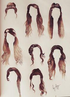 aggsart – Zoella's hair - hair style Braid Hairstyles, Long Hairstyles, Pretty Hairstyles, Zoella Hairstyles, Drawing Hairstyles, Female Hairstyles, Everyday Hairstyles, Country Girl Hairstyles, Hairstyle Ideas