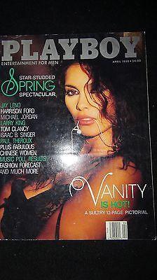 PLAYBOY Magazine VANITY April 1988 ELOUISE BROADY Karrel Hanak MICHAEL JORDAN 12