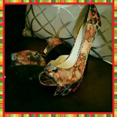 Chinese Laundry heels Size 8.  About two inch platform..  used once.  30% off bundles..  Prices are not set in stone ☄️ Make an offer!!! Chinese Laundry Shoes