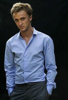 Tom Felton, I think I'm just a sucker for a nice shirt/suit...