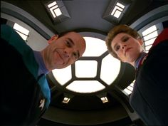 The Doctor and Captain Janeway