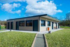 Construction modulaire par Legoupil Industrie. #Vestiaires sportifs #modulaires, bâtiment #modulable de 174 m².