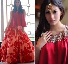 Manish Malhotra # brides maid look # lehenga # fusion look#