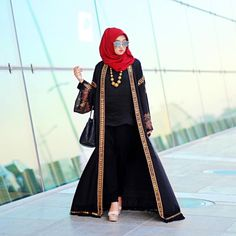 It's not about what you wear, it's about who you are. Because style is first impression, but attitude and personality is what last forever ✨ Batik Pekalongan painted beautifully in my abaya ❤️ and of course, DP hijabstyle as always ✨