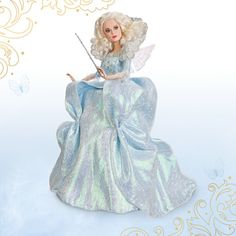 *************Fairy Godmother Disney Film Collection Doll - Cinderella - Live Action Film - 11''