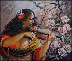 sait of artist Art Girl, Lightbox, Girls, Artist, Flowers, Pictures, Painting, Website, Toddler Girls
