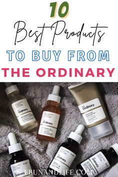 If you are looking to try The Ordinary Skincare for the first time, here are ten of the best products to start with.