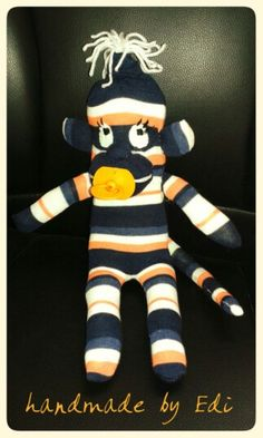 Majmocska-sock monkey