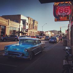 Wow this town REALLY likes to celebrate Route 66 #Williams #Route66 #Arizona