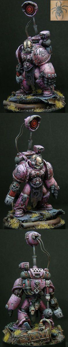 Emperor's Children Aspring Champion. Chaos Space Marines, Warhammer 40k