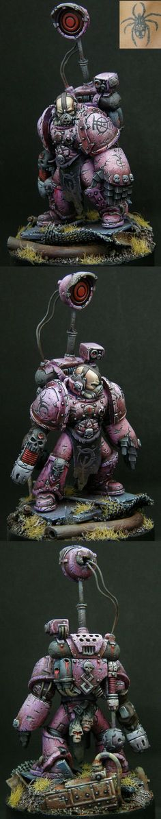 Emperor's Children Aspring Champion. Chaos Space Marines, Warhammer 40k