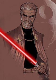 Darth Tyranus Sketch