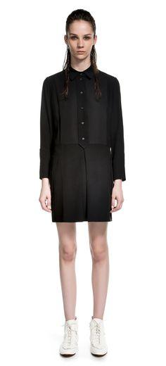 DRESSES T-SHIRT DRESS BLACK